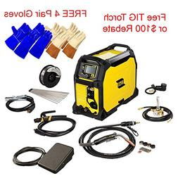 ESAB Rebel EMP 235ic MIG/Stick/Tig Welding Machine w/ Foot C