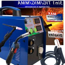 TIG/MMA / MIG Welder - Tosense 3 in 1 Combo Multi-Function W