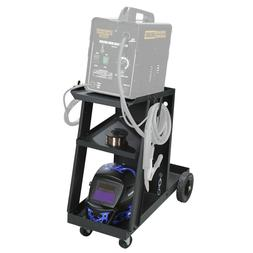 Welding Cart for MIG TIG Flux Welder Heavy Duty Swivel Wheel