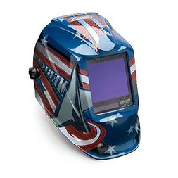 Welding Helmet, American Flag Graphic